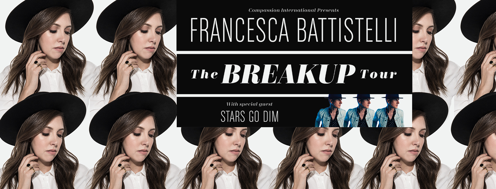 The Breakup Tour with Francesca Battistelli logo