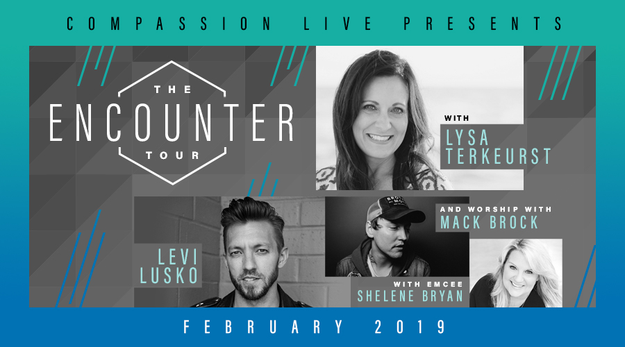 The Encounter Tour – Houston, TX logo