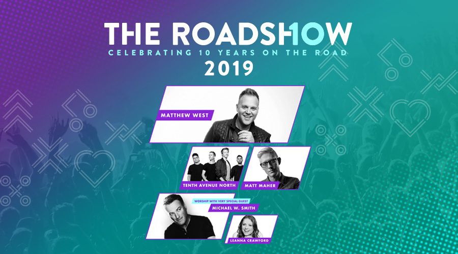 The Roadshow Spring 2019 logo