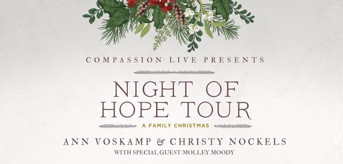 Night Of Hope Tour - A Family Christmas with Ann Voskamp, Christy Nockels, and Special Guest Molley Moody logo
