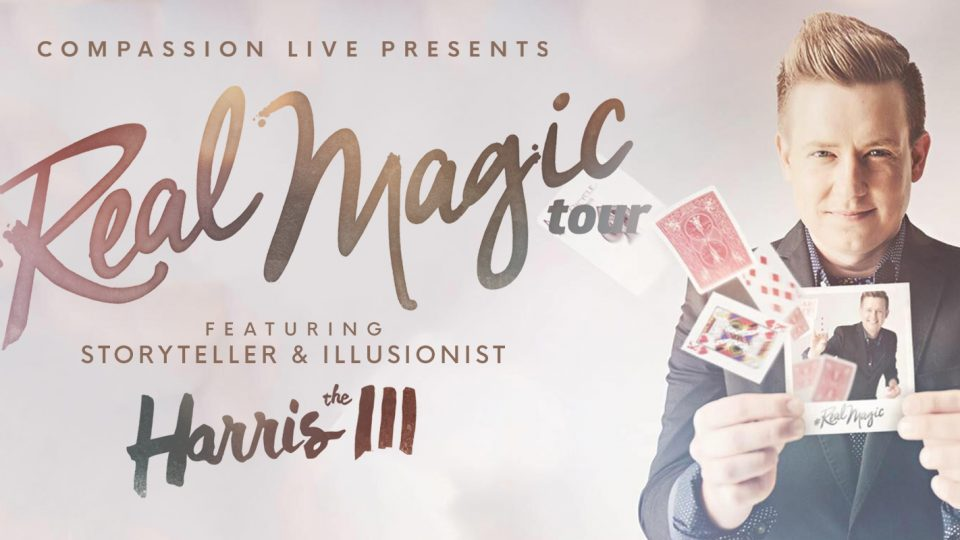 Real Magic with Harris III (Official Tour Trailer) thumbnail