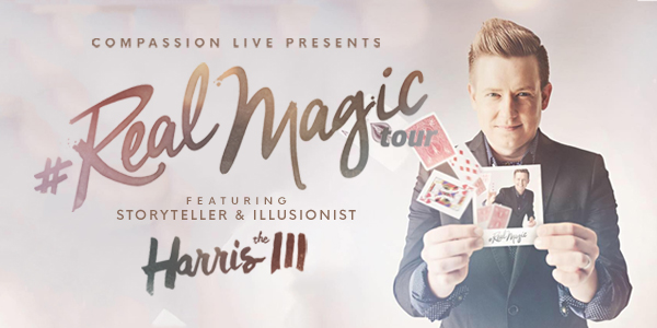 Real Magic Tour with Harris III