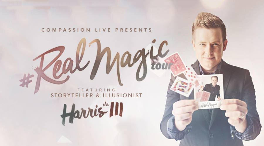 Real Magic Tour with Harris III logo
