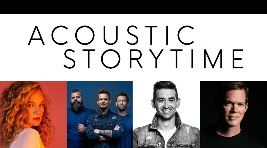 Acoustic Storytime - Hosted by Jason Gray logo