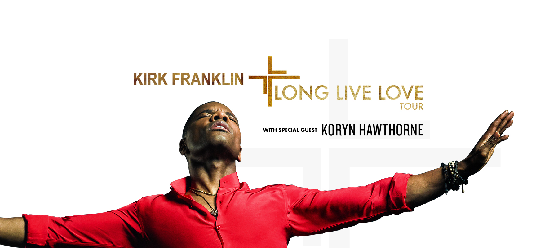 Kirk Franklin – Long Live Love Tour – Lakewood, OH logo