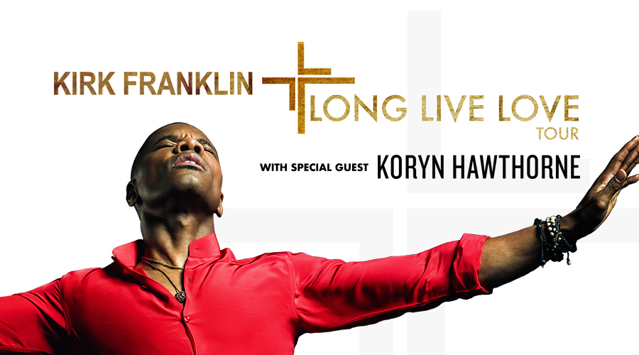 Kirk Franklin – Long Live Love Tour – Nashville, TN logo