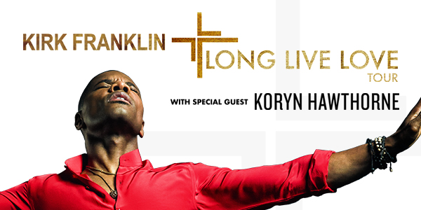Kirk Franklin – Long Live Love Tour – Detroit, MI logo