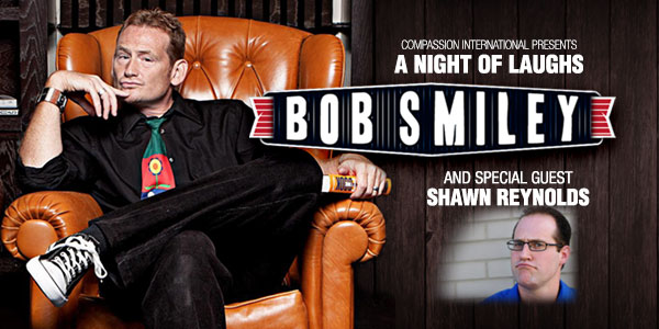 A Night of Laughs with Bob Smiley and Shawn Reynolds – Roanoke, VA logo