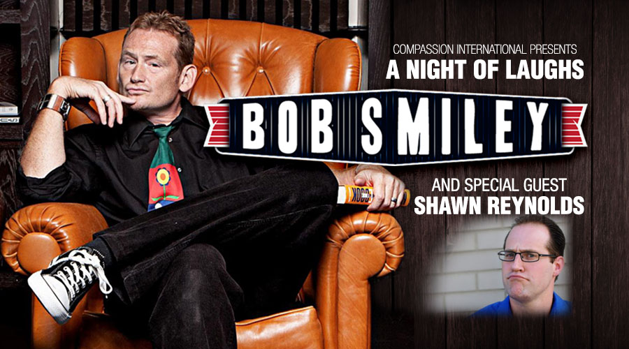 A Night of Laughs with Bob Smiley and Shawn Reynolds – Charleston, WV logo