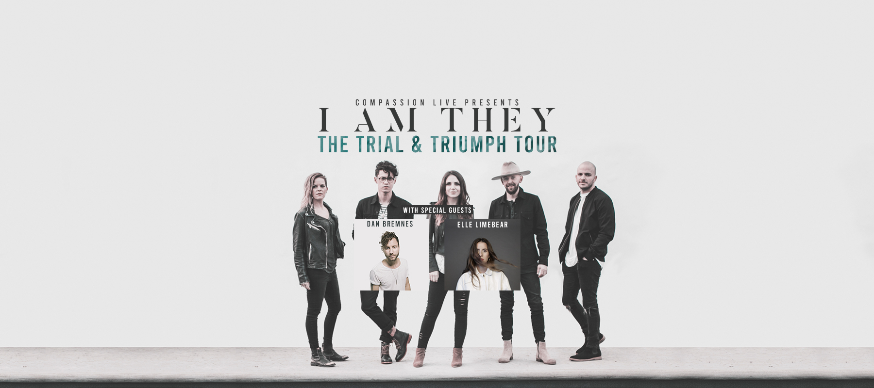 The Trial & Triumph Tour with I AM THEY, Dan Bremnes, and Elle Limebear logo