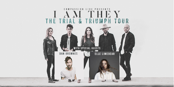 The Trial & Triumph Tour with I Am They, Dan Bremnes, and Elle Limebear – El Dorado, AR logo
