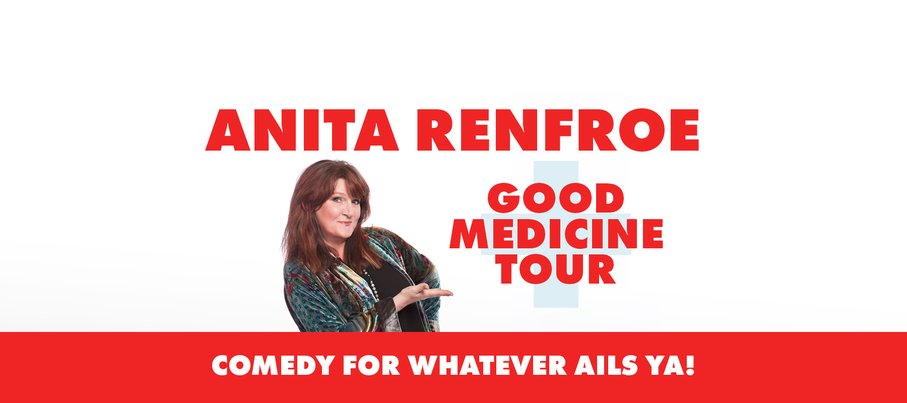 Anita Renfroe – Good Medicine Tour – Jenson Beach, FL logo