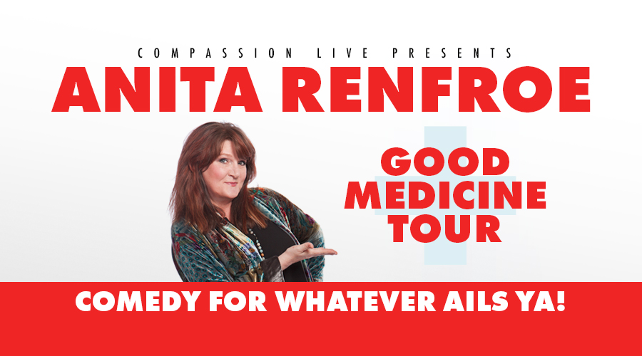Anita Renfroe - Good Medicine Tour logo