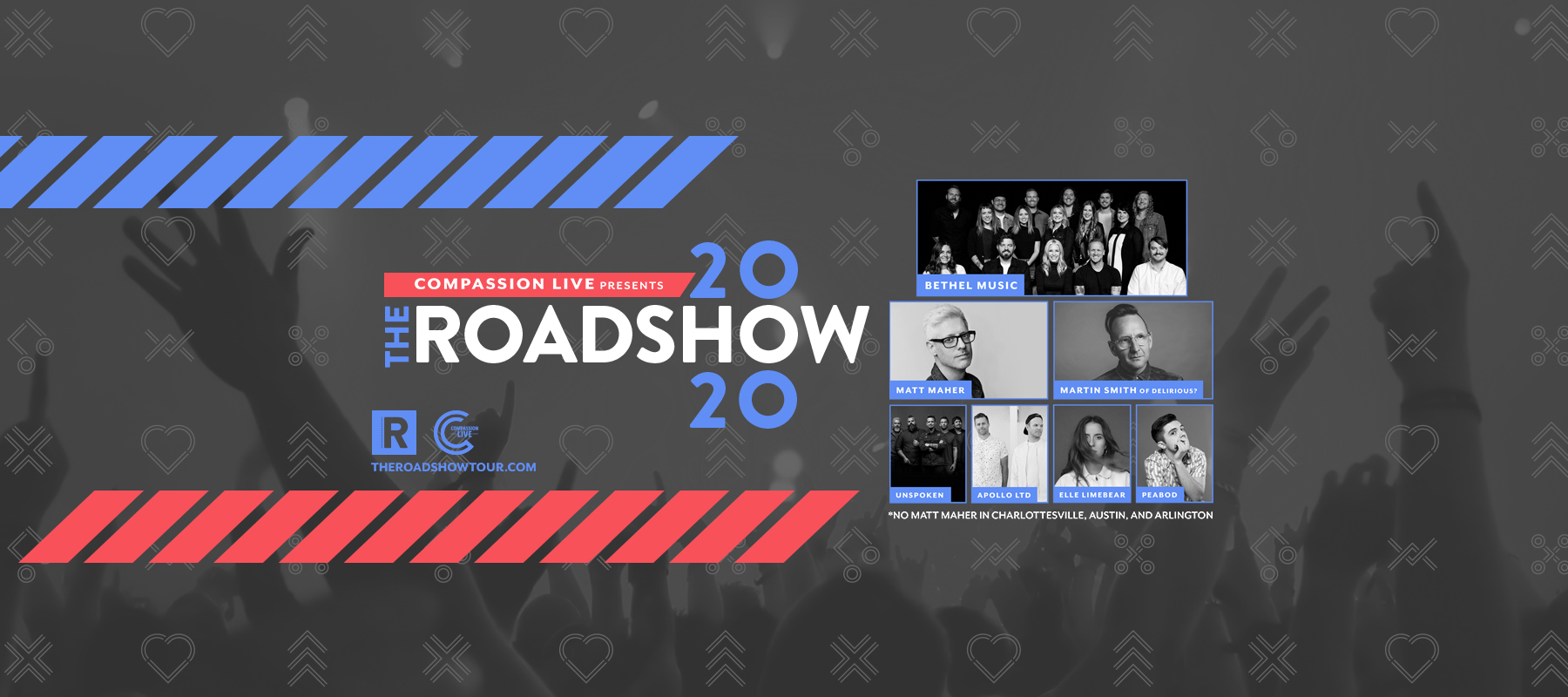 The Roadshow 2020 logo