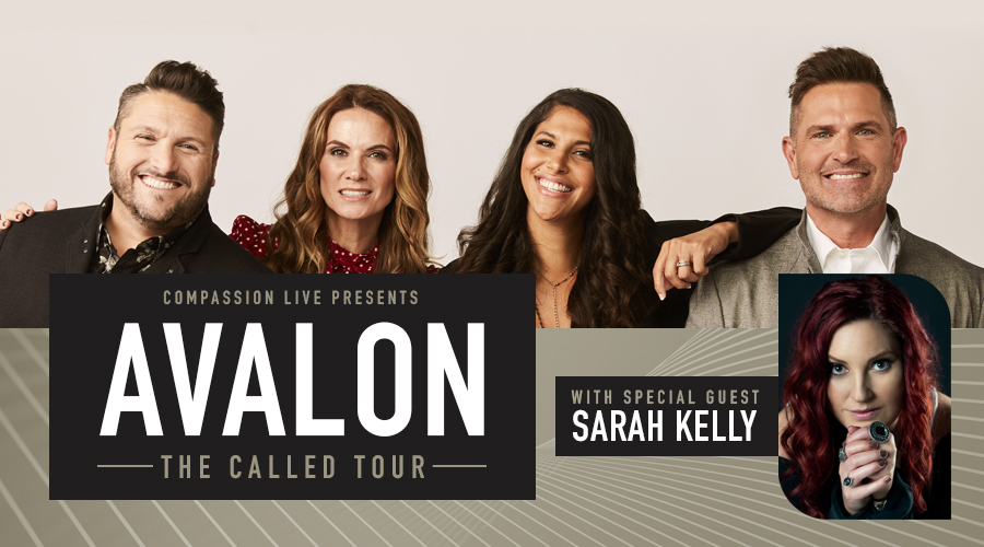 THE CALLED TOUR – Avalon with Sarah Kelly – Connersville, IN logo