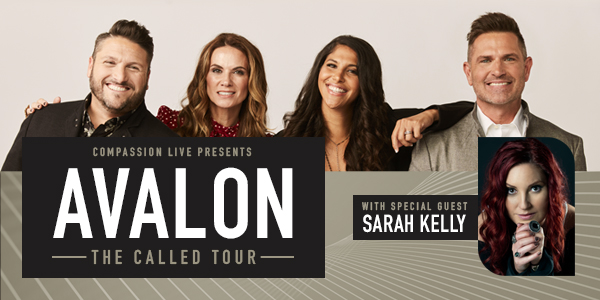THE CALLED TOUR - Avalon with Sarah Kelly logo