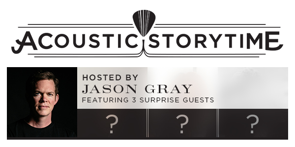 Acoustic Storytime Hosted by Jason Gray logo