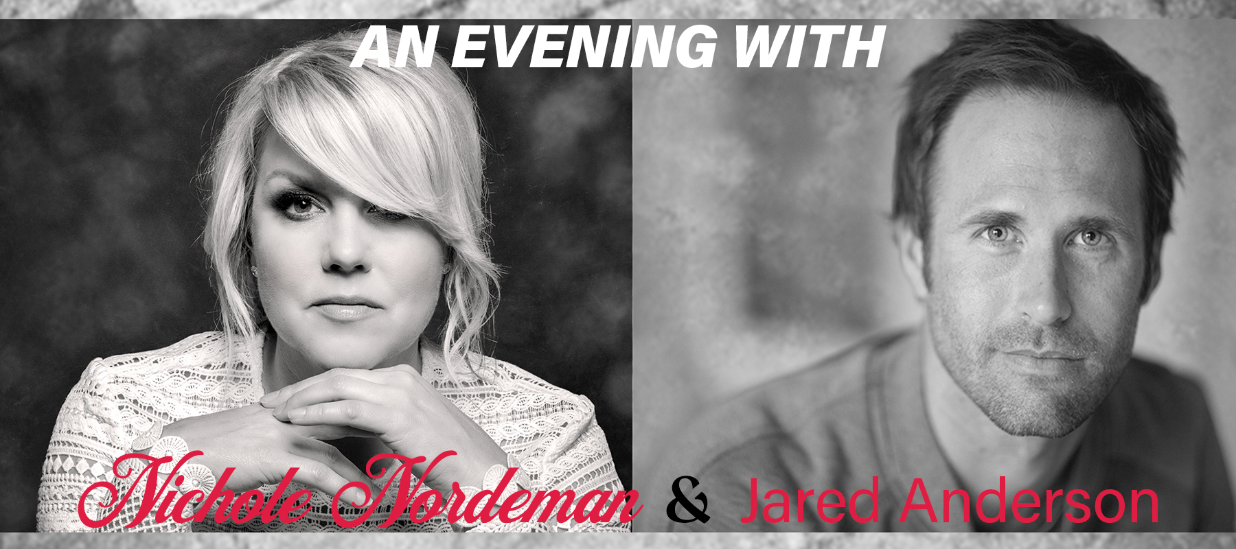 An Evening with Nichole Nordeman and Jared Anderson logo