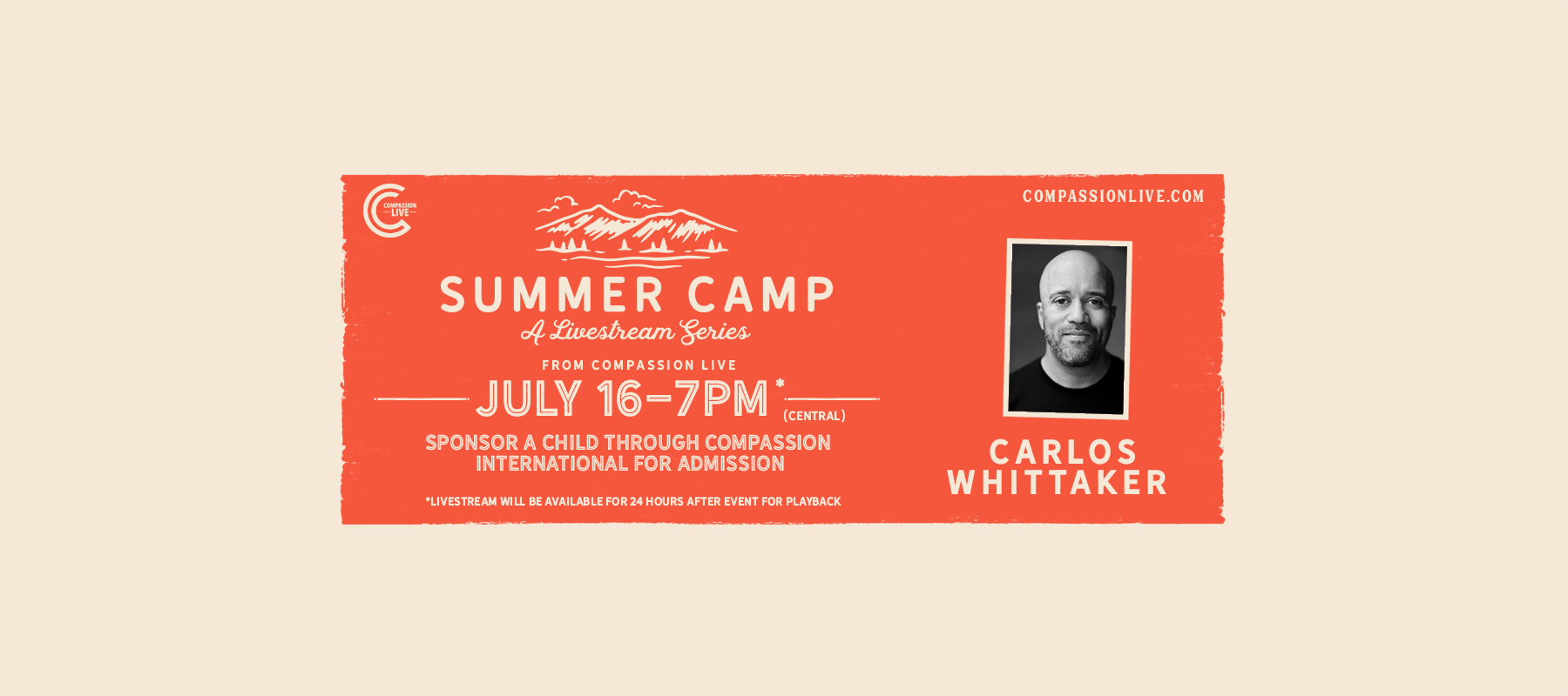 Summer Camp with Carlos Whittaker logo