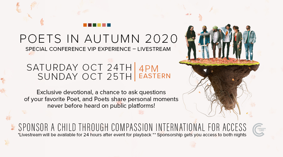 Poets In Autumn - Special Conference VIP Experience