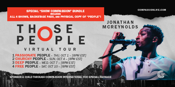 Those People Virtual Tour with Jonathan McReynolds – **Still Available For Viewing Through October 17th!** logo