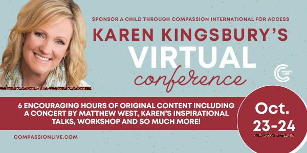 Karen Kingsbury's Virtual Conference