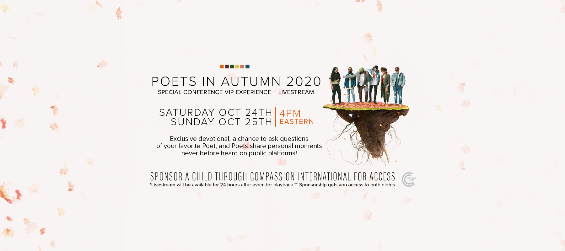 Poets In Autumn – Special Conference VIP Experience logo
