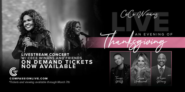 An Evening of Thanksgiving with CeCe Winans logo