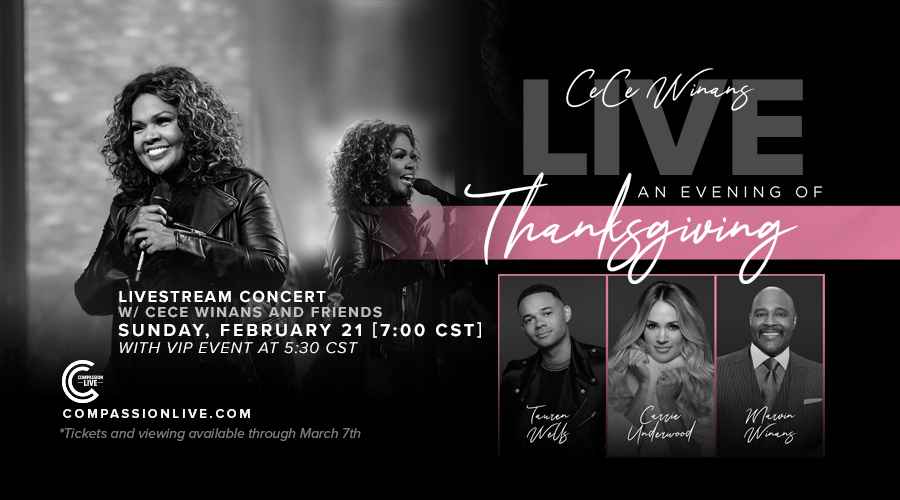 An Evening of Thanksgiving with CeCe Winans