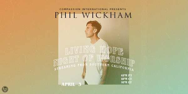 Phil Wickham – Living Hope Night of Worship logo