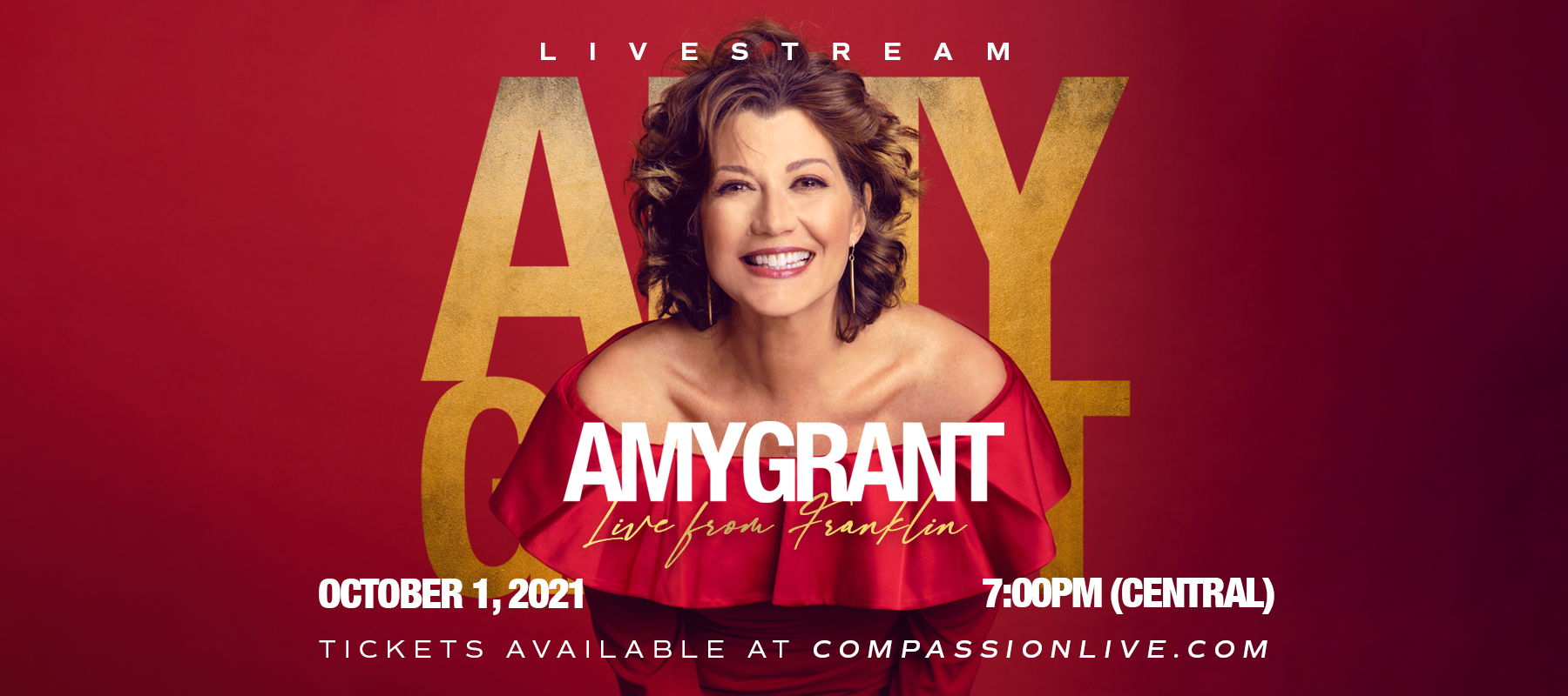 Amy Grant – LIVE FROM FRANKLIN logo